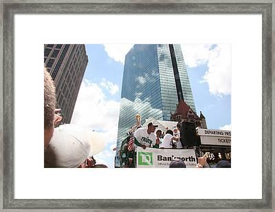 2008 Boston Celtics Victory  Parade Framed Print
