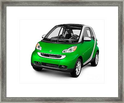 2008 Smart Fortwo City Car Framed Print by Oleksiy Maksymenko
