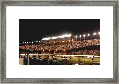 2009 Coke Zero 400 At Daytona International Speedway Framed Print