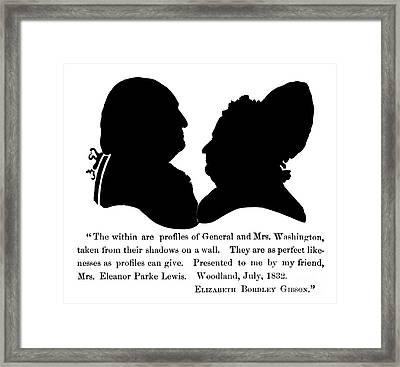 George Washington Framed Print