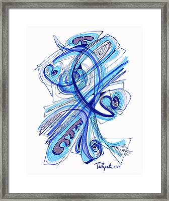 2010 Drawing Four Framed Print