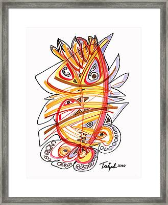 2010 Drawing Three Framed Print