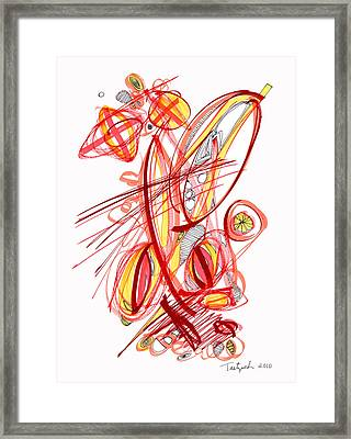 2010 Drawing Two Framed Print