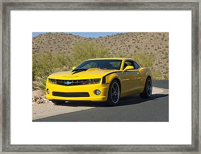 2010 Nickey Camaro Framed Print