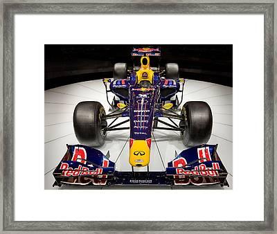2010 Red Bull F1 Framed Print by Steve Zimic