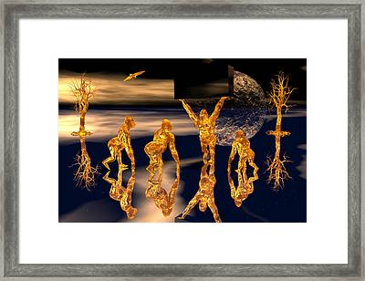 2010 The Sequel Framed Print by Claude McCoy