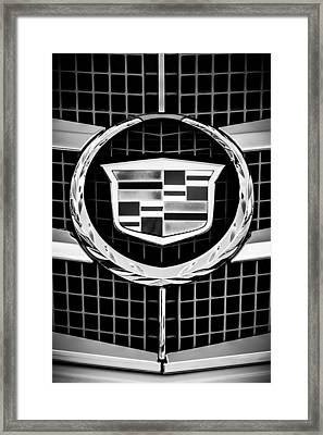 2011 Cadillac Cts Performance Collection -0584bw46 Framed Print by Jill Reger