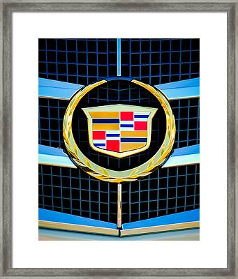 2011 Cadillac Cts Performance Collection -0584c45 Framed Print by Jill Reger
