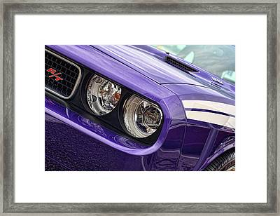 2011 Dodge Challenger Rt Framed Print