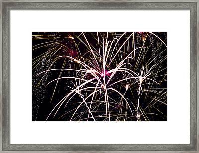 2011 Fireworks Framed Print by Robert  Torkomian