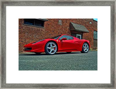 2012 Ferrari 458 Spider Framed Print by Tim McCullough