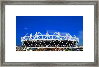 2012 Olympics London Framed Print by David French