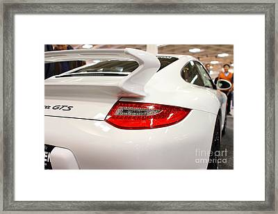 2012 Porsche 911 Carrera Gts . 7d9639 Framed Print by Wingsdomain Art and Photography