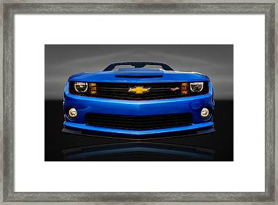 2013 Chevrolet Camaro Hot Wheels  - Cv Cam22 Framed Print