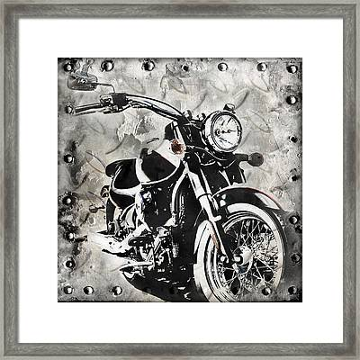 2013 Kawasaki Vulcan Framed Print by Melissa Smith