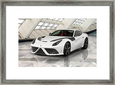 2013 Mansory Stallone Ferrari F12 Berlinetta Wide Framed Print