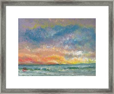 2014 Seascape Framed Print