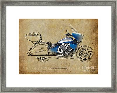 2014 Victory Cross Country Tour Framed Print