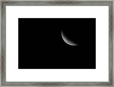 2015 Harvest Moon Eclipse 1 Framed Print by Terry DeLuco