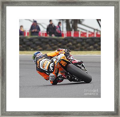 2015 Moto Grand Prix Framed Print by Blair Stuart