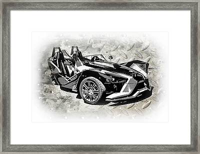 2015 Polaris Slingshot 2 Framed Print by Melissa Smith