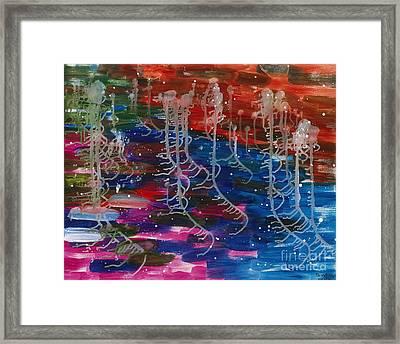2015 Under The Deep Ocean 01 Framed Print