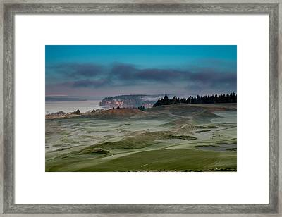 2015 Us Open - Chambers Bay Vi Framed Print