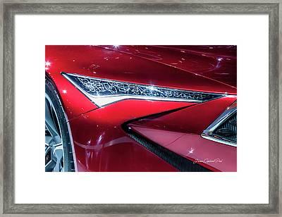 2016 Acura Precision Concept Car Framed Print