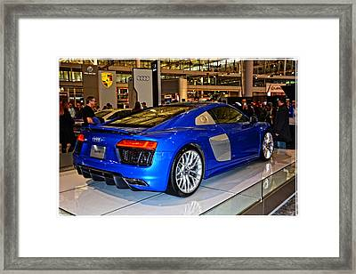 2016 Audi R8 Framed Print by Mike Martin