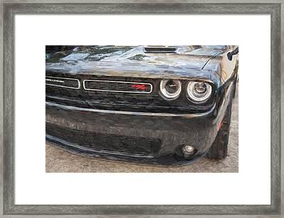 2016 Dodge Challenger R/t  Framed Print by Rich Franco
