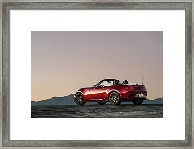 2016 Mazda Mx-5 Miata Framed Print by Drew Phillips
