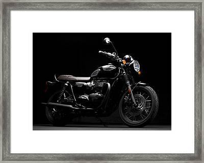 2016 Triumph Bonneville T120 Framed Print
