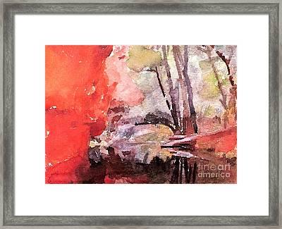 #20161215d Framed Print by John Warren OAKES