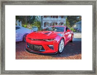Framed Print featuring the photograph 2017 Chevrolet Camaro Ss2  by Rich Franco