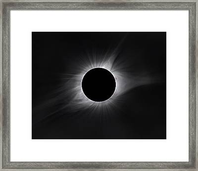 2017 Eclipse Totality Framed Print