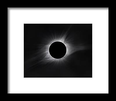 Solar Eclipse Framed Prints
