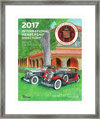 Framed Print featuring the painting 2017 International Cover Award by Jack Pumphrey