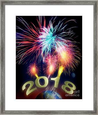 2018 Framed Print