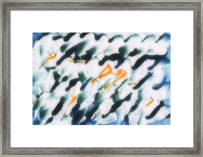 202 - Abstraction Framed Print by Eric  Copeman