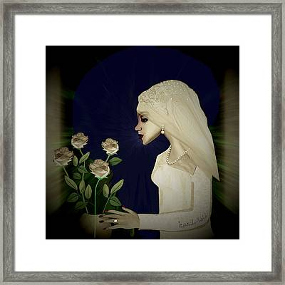 202 - Shy  Bride  2017 Framed Print