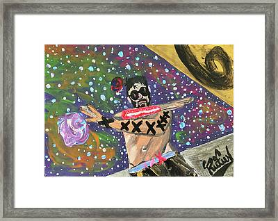 2021 The Eyes Odyssey Framed Print