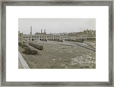 207th Street Railyards Framed Print