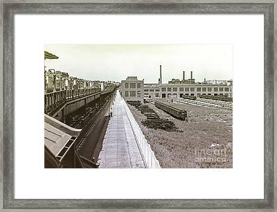 207th Street Subway Yards Framed Print