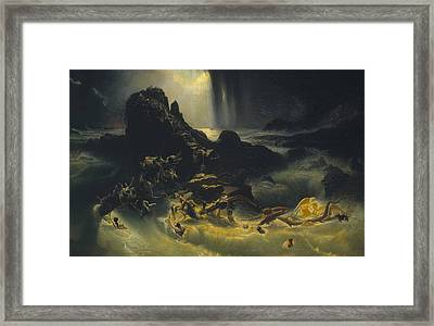 The Deluge Framed Print by MotionAge Designs