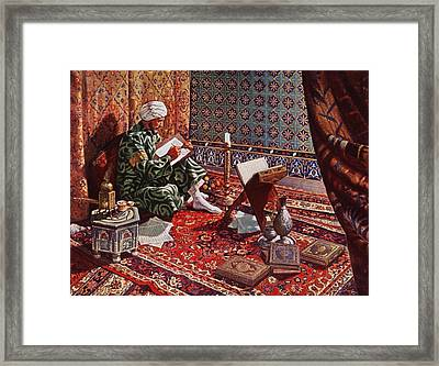 20th Century Illustration Framed Print
