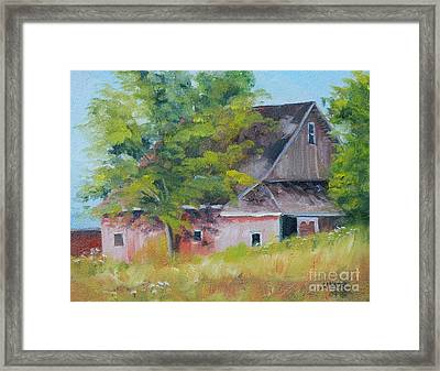 20th Road And 331 Framed Print by Mike Yazel