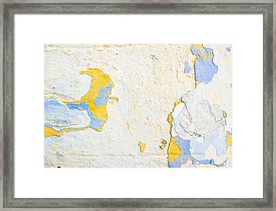 Stone Wall Framed Print by Tom Gowanlock