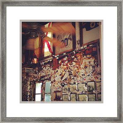 Old Absinthe House Framed Print