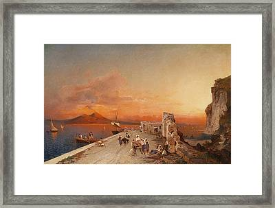 Leo Sobre Tela Framed Print by MotionAge Designs