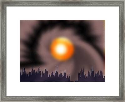 218 - Climate Change 3 .... Autumn Framed Print